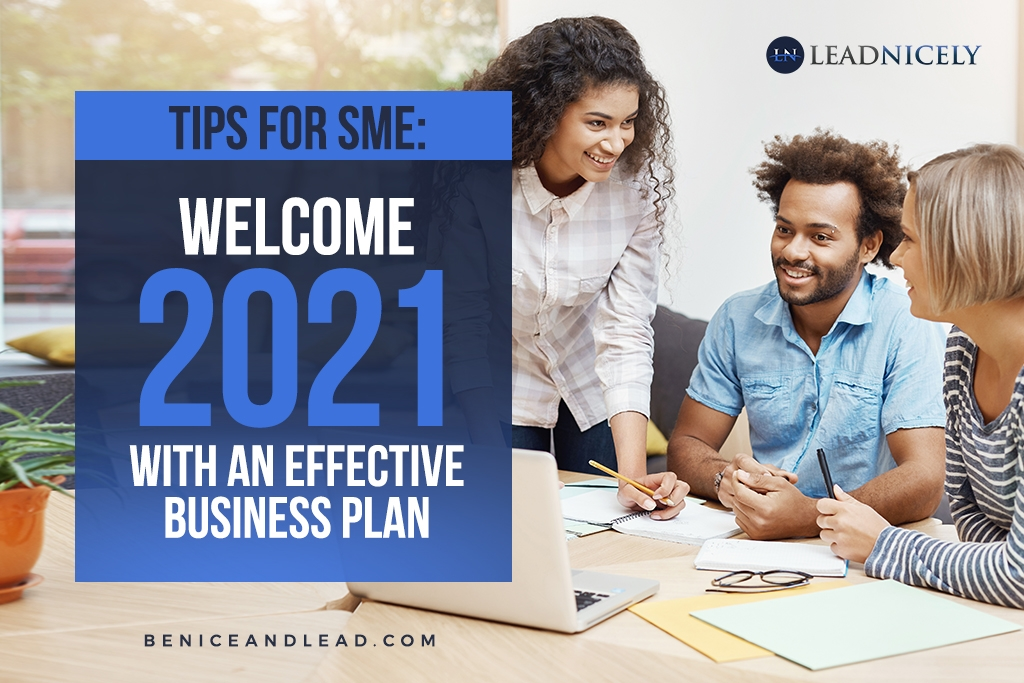 Tips for SME: Welcome 2021 With an Effective Business Plan
