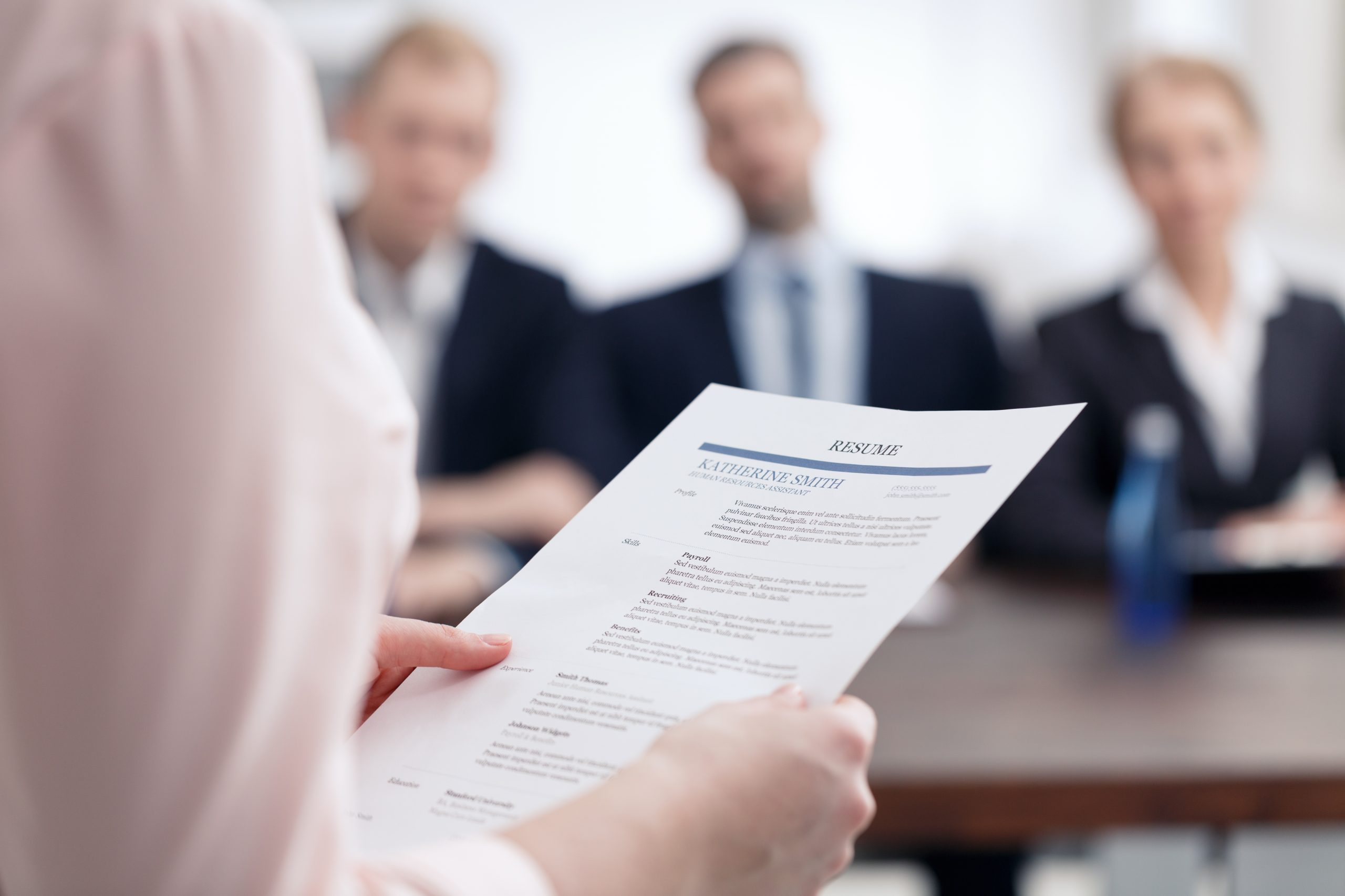 Resume design services